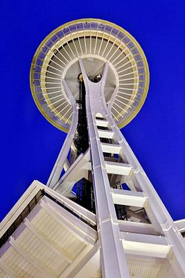 Photograph - Meet Me At The Needle by Benjamin Yeager