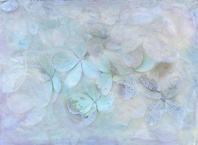 Meet Me In Petals Art Print