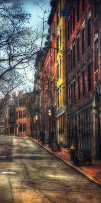 Photograph - Meet Me On Phillips Street - Beacon Hill - Boston by Joann Vitali
