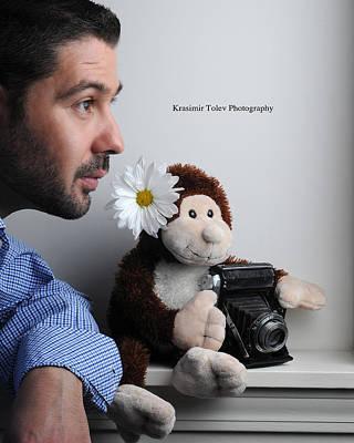 Photograph - Meet The Artist by Krasimir Tolev