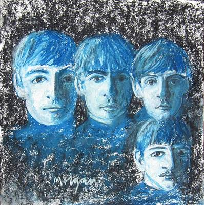 Painting - Meet The Beatles by Laurie Morgan