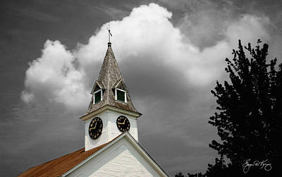 Photograph - Meeting House Mindscape by Wayne King