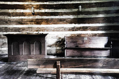 Photograph - Meeting House by Sharon Popek