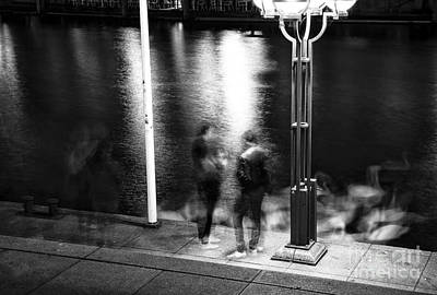 Photograph - Meeting In Hamburg by John Rizzuto