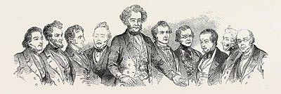 Dr. J Drawing - Meeting Of The British Association At Southampton by English School