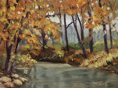 Franklin Tennessee Painting - Meeting Of The Waters by Tommy Thompson