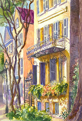 Lowcountry Painting - Meeting The Morning Sun by Alice Grimsley