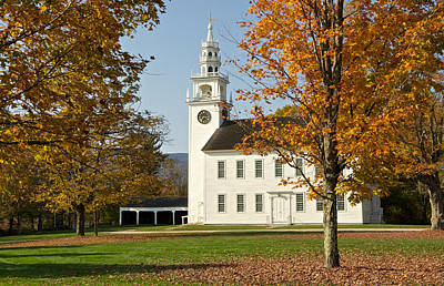 Photograph - Meetinghouse  Jaffrey Nh by Gail Maloney