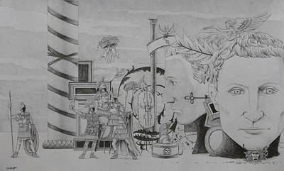 Megalomanical Imperium Art Print