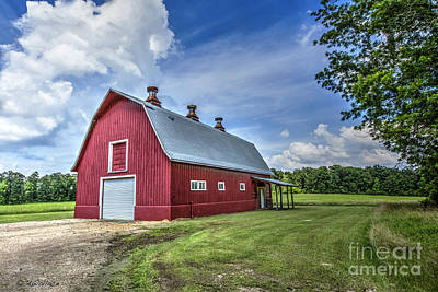 Photograph - Megan's Barn by D Wallace