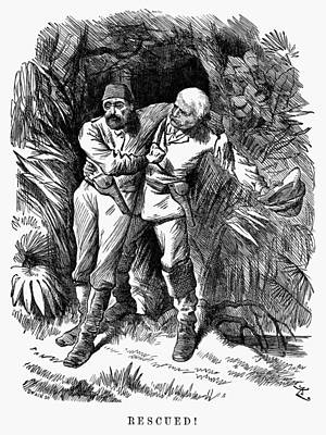 Mehmed Emin Pasha (1840-1892) Art Print by Granger
