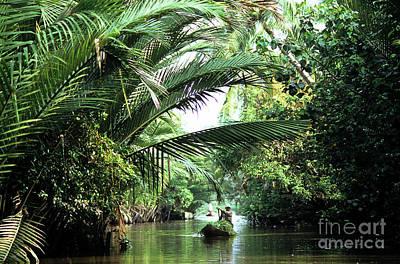 Photograph - Mekong Delta Backwater 01 by Rick Piper Photography