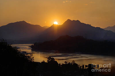 Photograph - Mekong River Laos by Craig Lovell