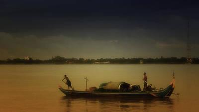 Southeast Asia Photograph - Mekong Sunrise by David Longstreath
