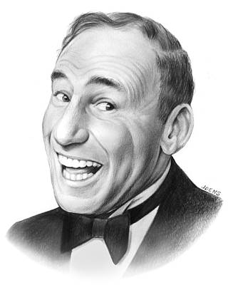 . Mel Drawing - Mel Brooks by Greg Joens