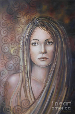 Melancholy 080808 Art Print