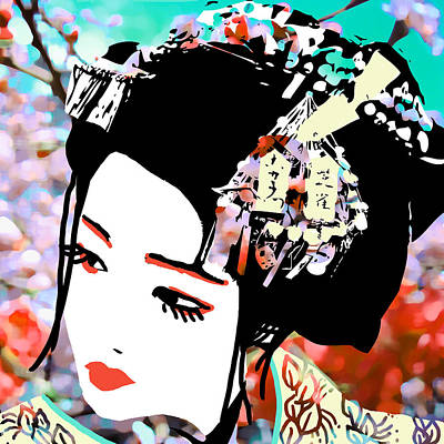 Cherry Blossoms Digital Art - Melancholy by Erica Falke