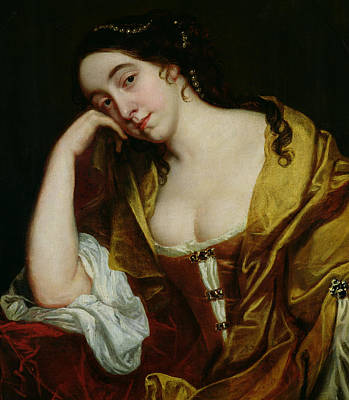 Sadness Painting - Melancholy by Jacob van Loo