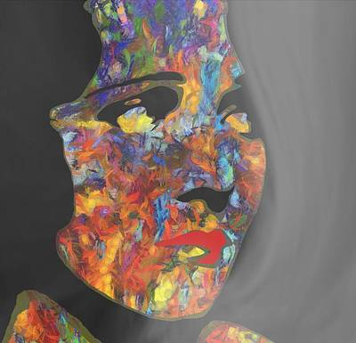 Blue Hues - Melancholy Madam by Dan Sproul