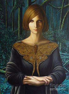 Eerie Painting - Melancholy by Milos Englberth