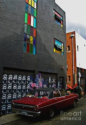 Photograph - Melbourne Alley by Louise Fahy