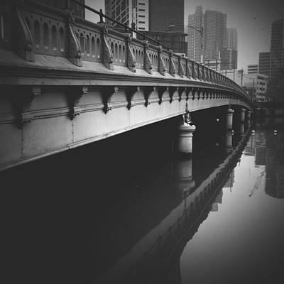 Melbourne Bridge Art Print