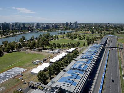 Photograph - Melbourne Grand Prix Circuit, Albert by Rob Huntley