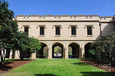 Photograph - Melbourne University - Old Quad by David Hill