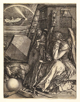 Drawing - Melencolia I by Albrecht Duerer