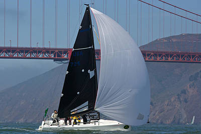 Sausalito Photograph - Melges 24 At The Gate by Steven Lapkin