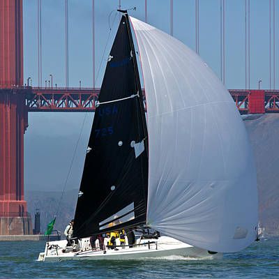 Melges South Tower Art Print by Steven Lapkin
