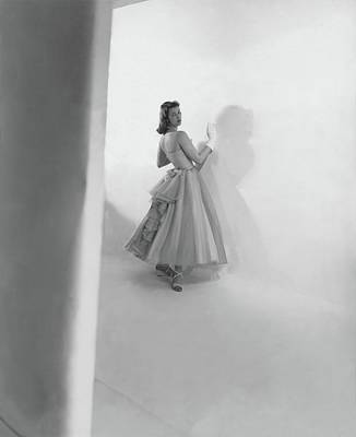 Melissa Weston Wearing A Julliard Dress Art Print
