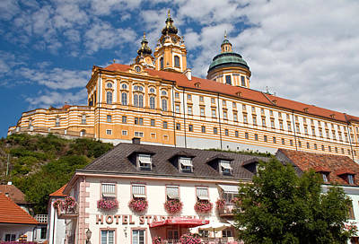 Melk Abbey Art Print by Dennis Cox WorldViews