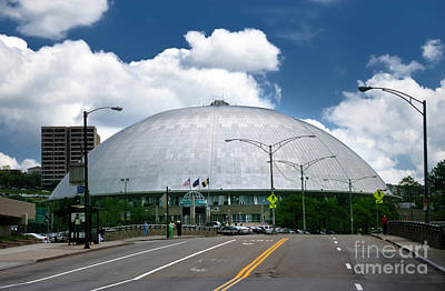 Architecture Photograph - Mellon Arena Pittsburgh Pa by Amy Cicconi
