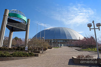 Mellon Arena Pittsburgh Pa Art Print by Sharon Dominick