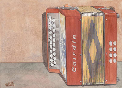 Painting - Melodeon Four by Ken Powers