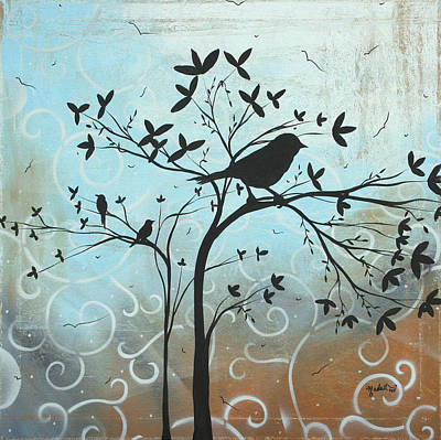 Melodic Dreams By Madart Art Print by Megan Duncanson