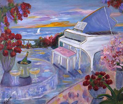 Elizabeth Scott Painting - Melody And Grace by Elizabeth Scott