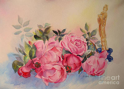 Painting - Melody For Roses by Beatrice Cloake