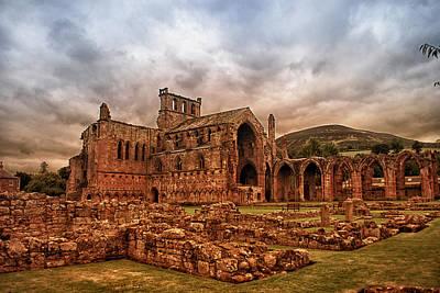 Photograph - Melrose Abbey by Jean-Noel Nicolas