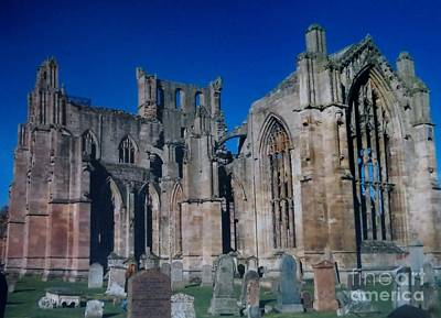 Photograph - Melrose Abbey  Scotland by Tim Townsend