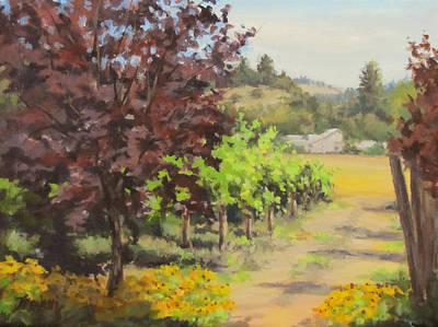 Painting - Melrose Morning by Karen Ilari