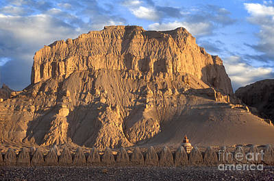 Photograph - Melting Chortens - Guge Kingdom by Craig Lovell