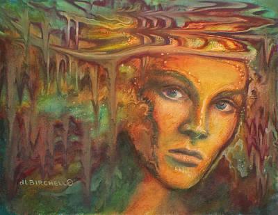 Melting Crowns Art Print