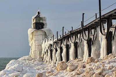 Photograph - Melting In Michigan by Scott Wood