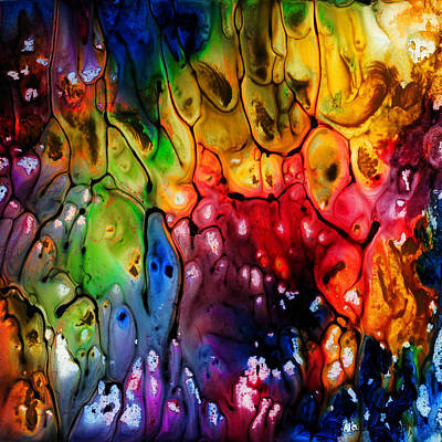 Vivid Colour Painting - Melting by Jo-Anne Gazo-McKim