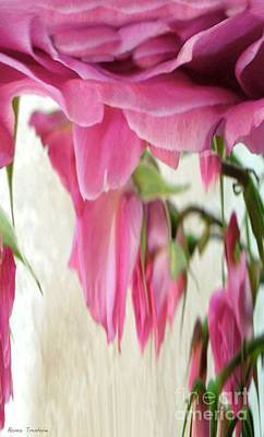 Photograph - Melting Roses by Renee Trenholm