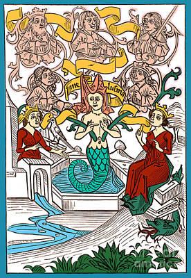 Melusine, Legendary Creature Art Print