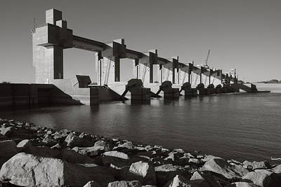 Photograph - Melvin Price Locks And Dam by Scott Rackers