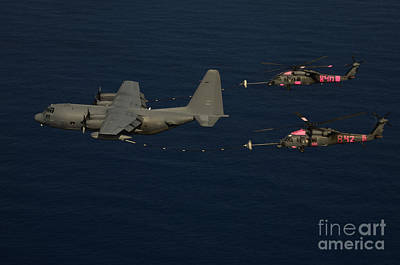 Members Of The 129th Rescue Wing Print by Stocktrek Images